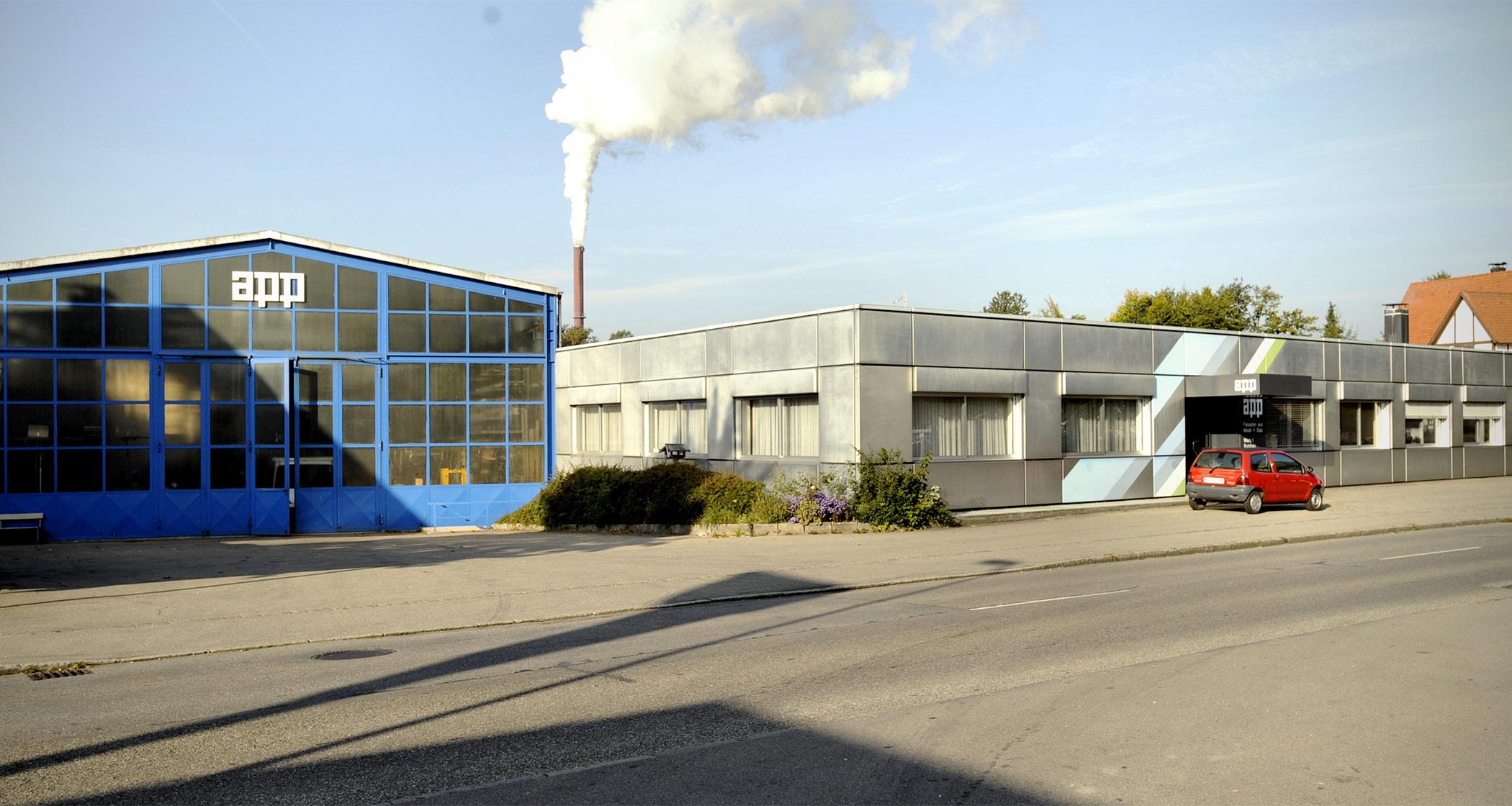 App Werk 1: Stahlbau-Fertigung