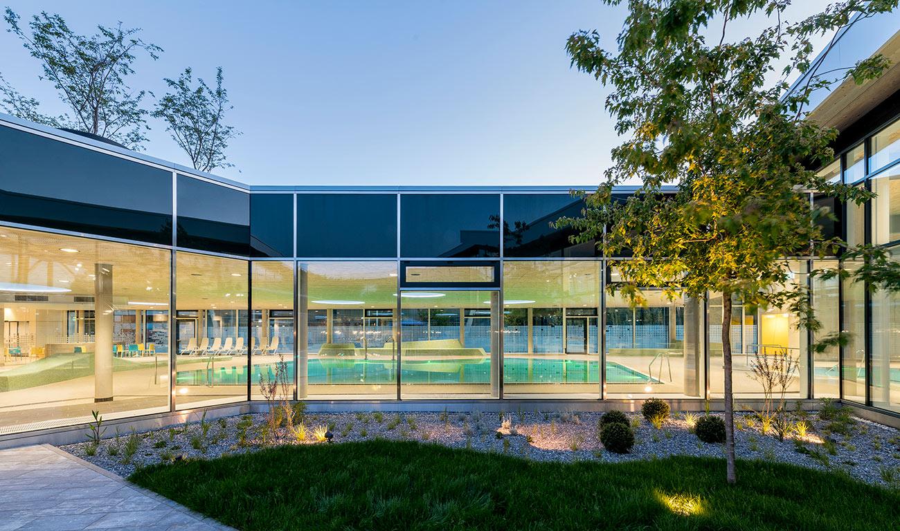 Sportbad/Parkhaus, </br>Friedrichshafen