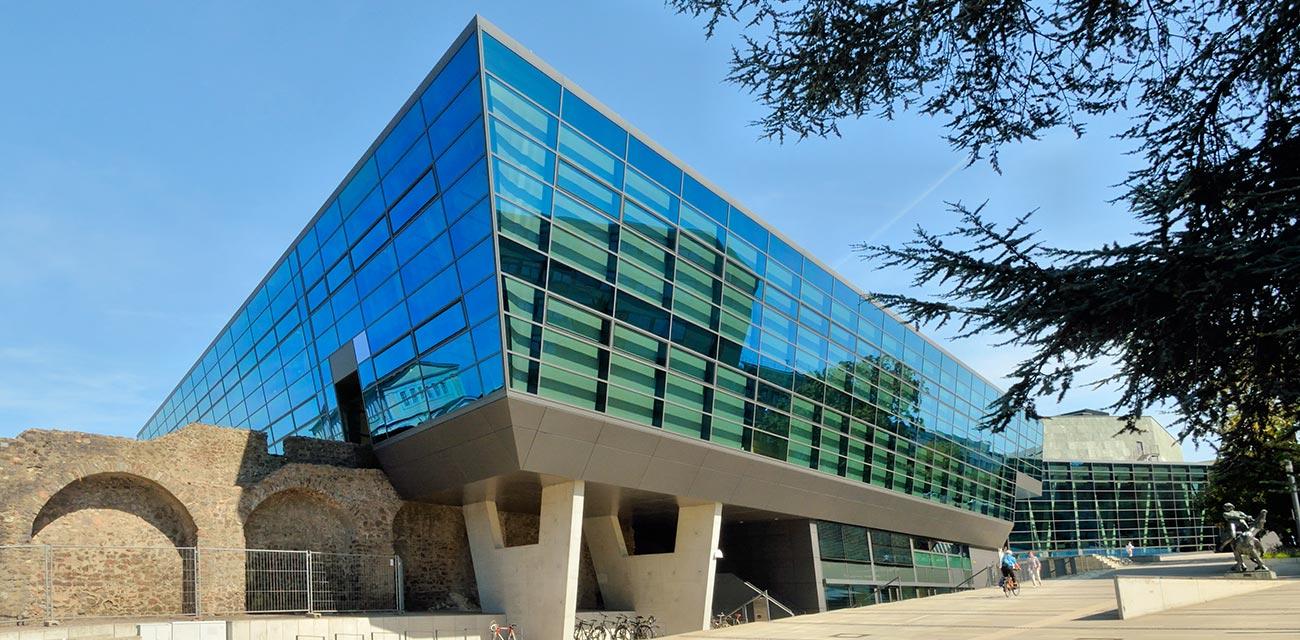 Wissenschafts- und </br>Kongresszentrum, </br>Darmstadt