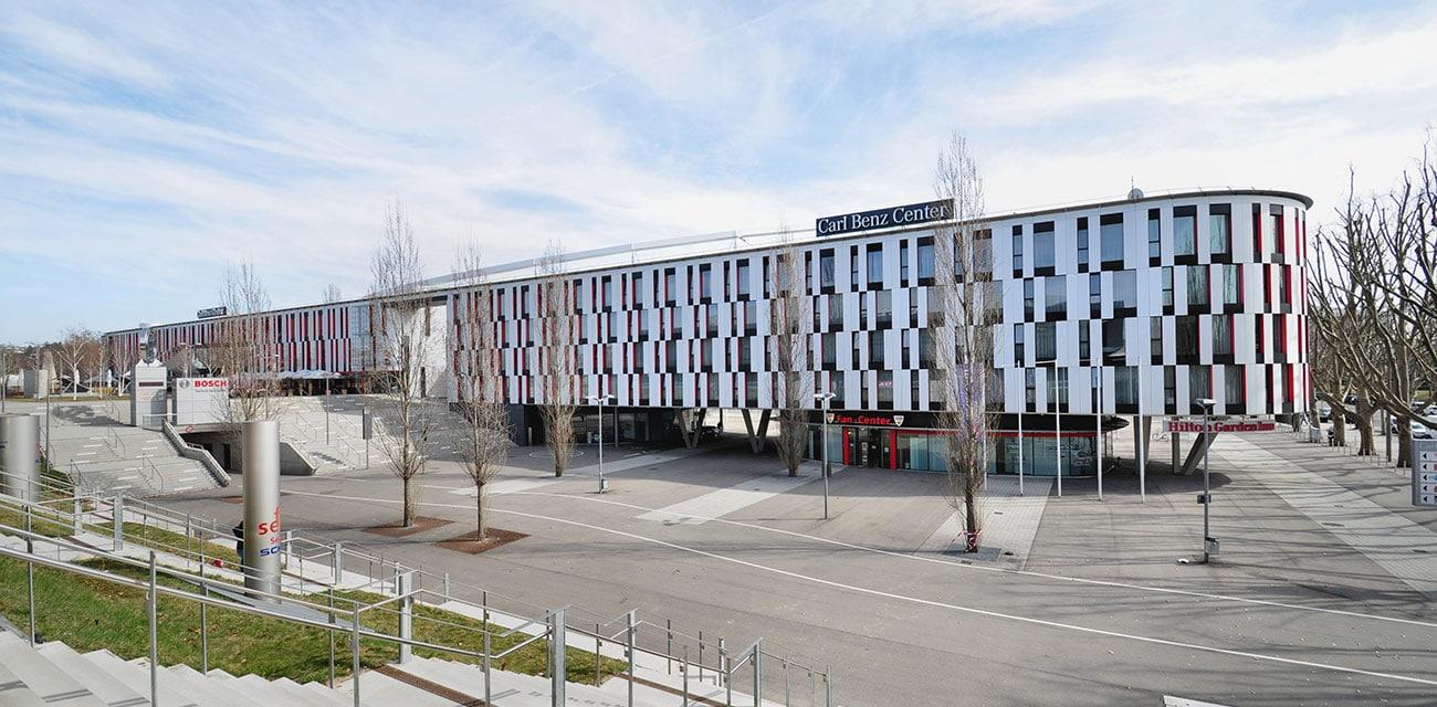 Carl Benz Center, </br>Stuttgart