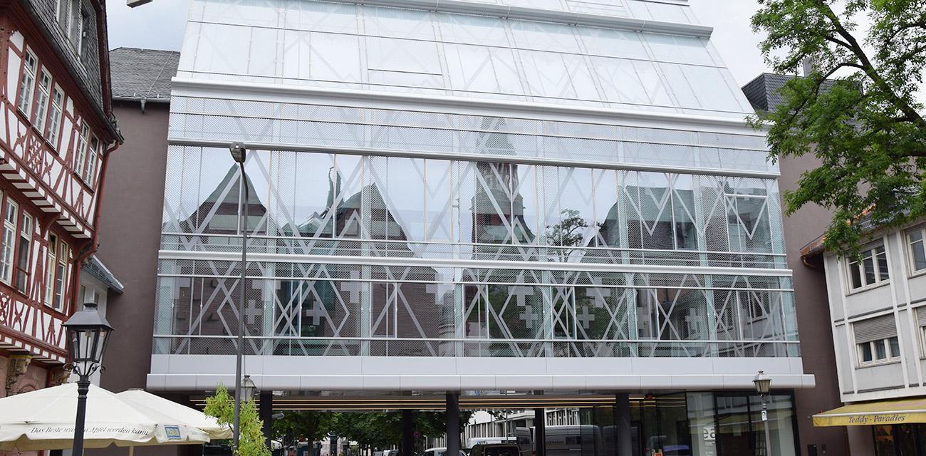 Evangelische </br>Stadtakademie, </br>Frankfurt
